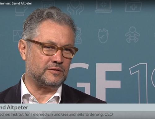 Interview mit Bernd Altpeter beim BGF 2019